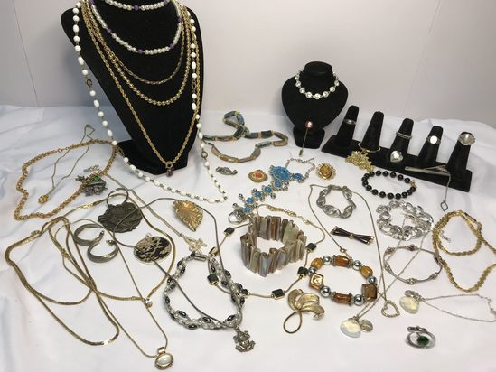 Awesome Lot of Sterling, Designer & Costume Jewelry