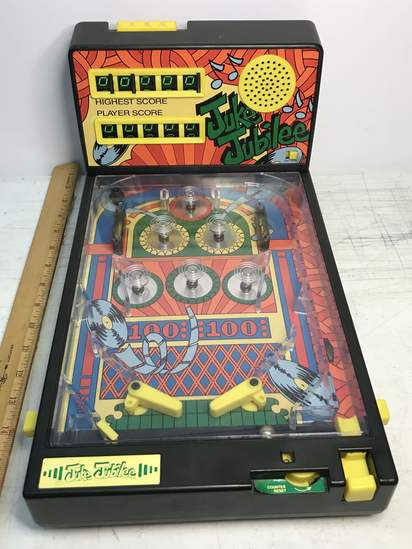 Vintage Juke Jubilee Pin Ball Machine with Noise - Works