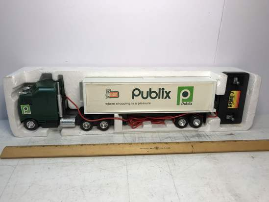 Publix Advertisement Remote Control Tractor Trailer Truck