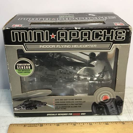 Mini Apache Indoor Flying Helicopter - New in Box