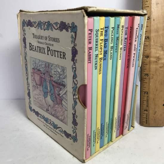 1990's Beatrix Potter Box Set of Children's Books