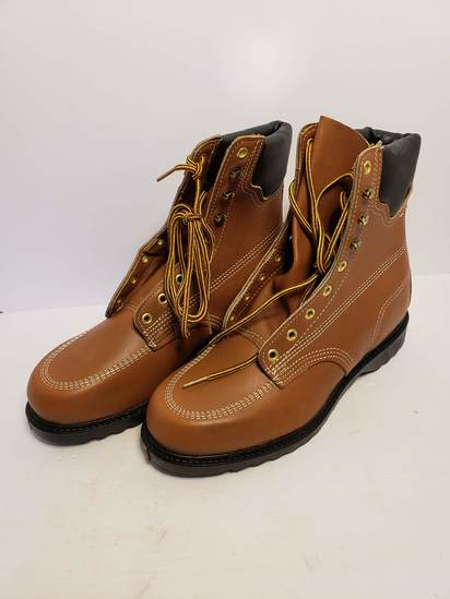One Pair of Walker Work Boots - Size 9