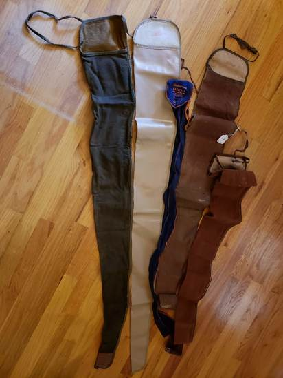 Lot of Vintage Rifle Cases  and 1 Shakespeare Case