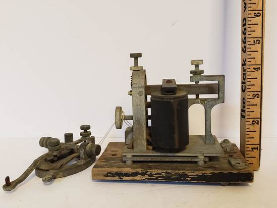 Vintage Telegraph Machine