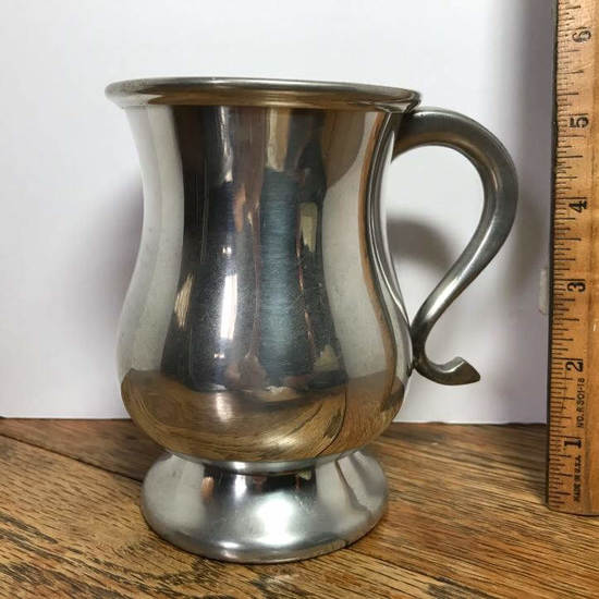 Vintage Pewter Tankard - Made in Sheffield England