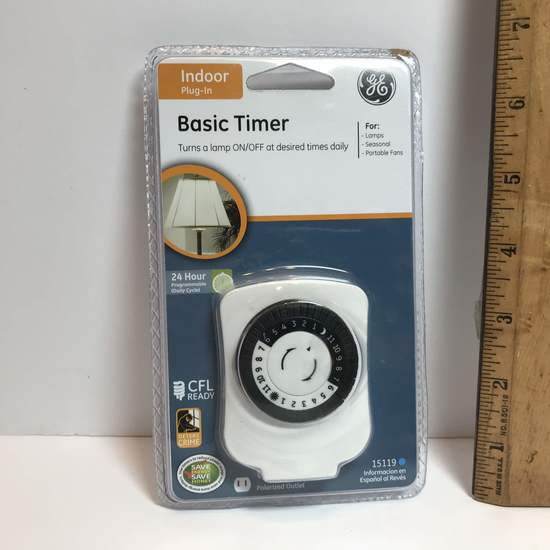 Indoor Plug-in Basic Timer - New in Package