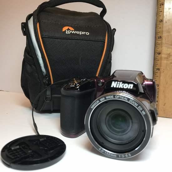 NIKON Coolpix L840 Camera with Case
