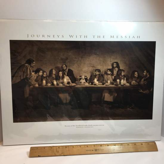 """""""Journeys With The Messiah"""" Passover by J. Michael Belk Print"""