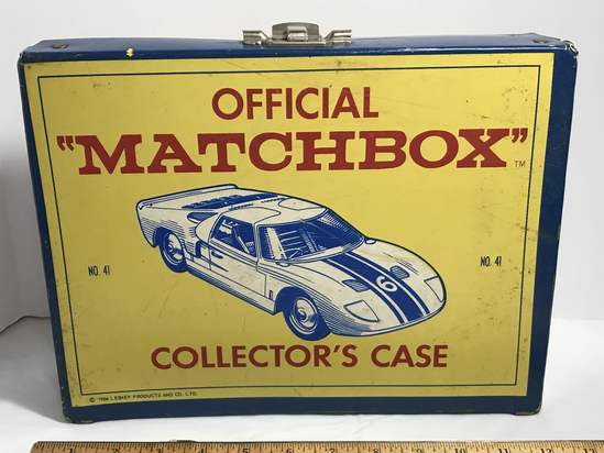 1966 Official Matchbox Collector's Case by Lesney Products FULL of 1970's & More Die-Cast Cars!