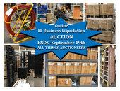 IT Business Liquidation On-site Auction