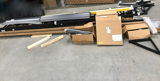 Lot of Ladder Racks, Triangle Support Kits & Misc Items