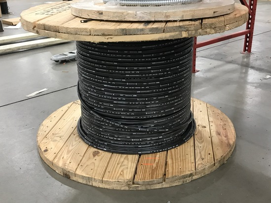 Superior Essex 50 pair 24 AWG Sealpic FSF Cable on a 4 ft Wide Spool