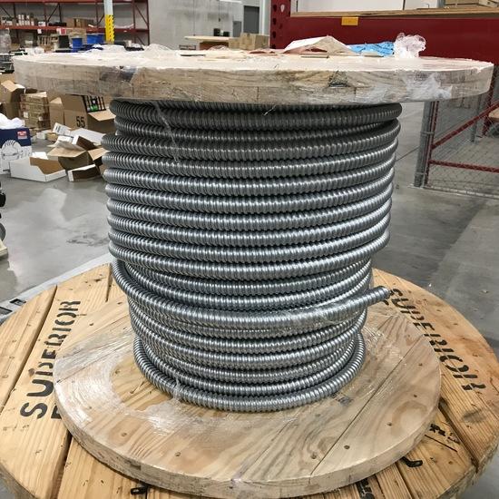 "Metal Flexible Conduit Part #118102001465 on 32"" wide Spool"
