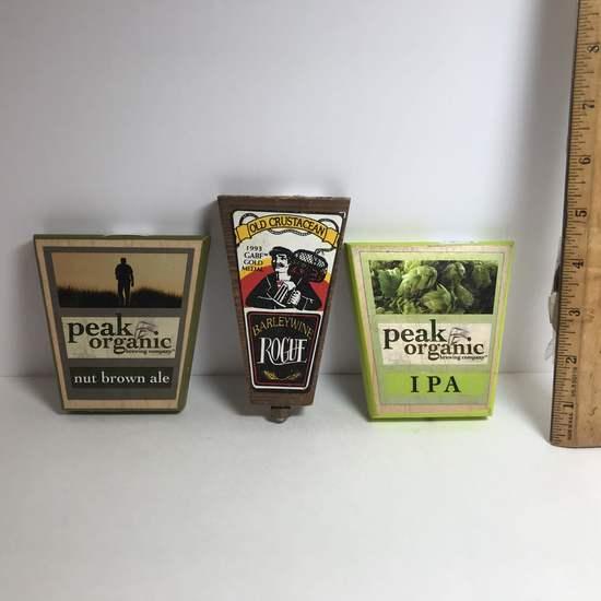 Lot of 3 Beer Taps