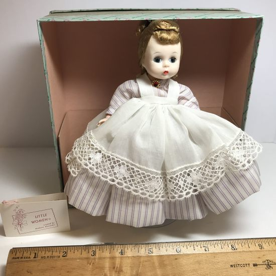 "Pre-1973 Alexanderkins ""Meg"" Doll with Bended Knee & Box"