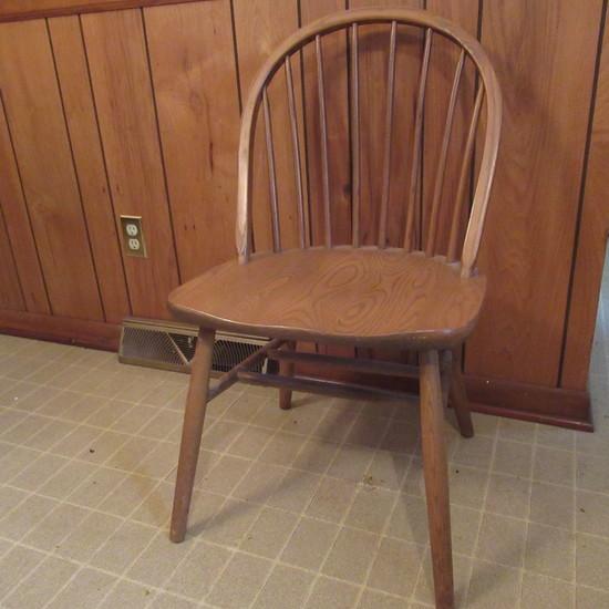 Windsor Chair by F.W. Lombard, So. Ashburnham MA