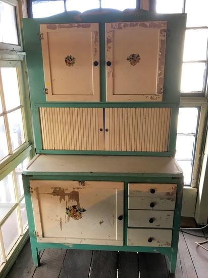 Impressive Early Hoosier Cabinet