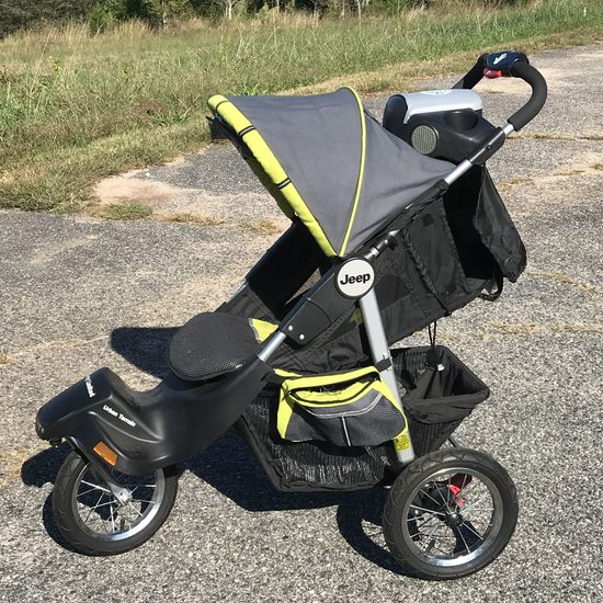 Jeep Brand Jogging Stroller with Front Fixed Wheel