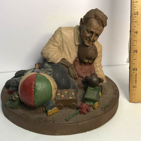 "Large Tom Clark ""Christmas Morn"" Figurine"