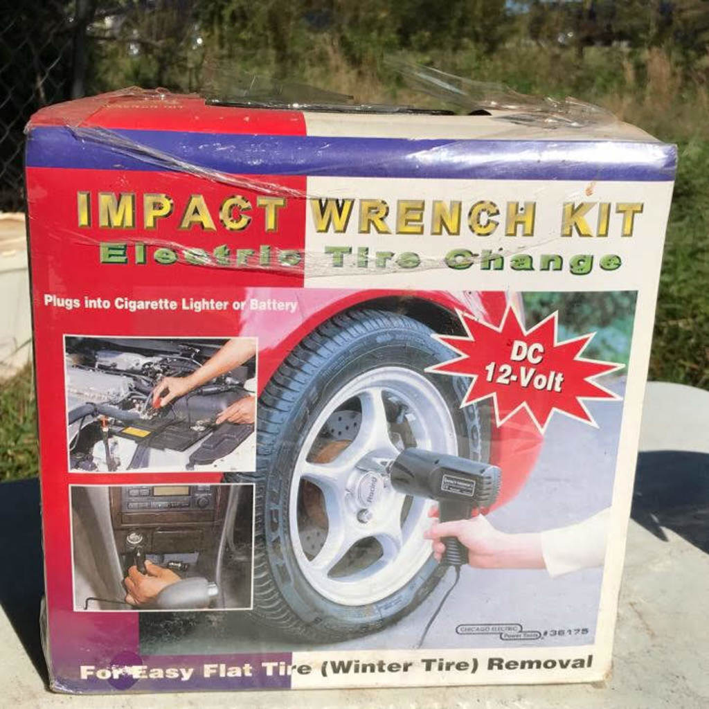 Impact Wrench Kit Electric Tire Change New In Box