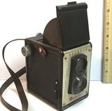 Vintage Spartus Full View Bakelite Camera.