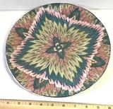 Vintage Decorative Painted Oriental Plate