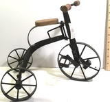 Decorative Metal and Wood Tricycle