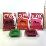 Lot of Jello Silicone Molds