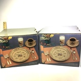 Lot of Two 20 Piece 7774 Heartland Dishes