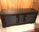 Wooden Console Table/ Entertainment Stand.