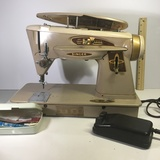 Vintage Singer Sewing machine with Foot Pedal.