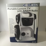 Curtis Portable Lantern, TV, AM/FM Radio