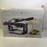 Bella Cucina Rotating Belgian Waffle Maker