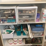 Awesome Lot of Craft Supplies and Cosmetic Goods