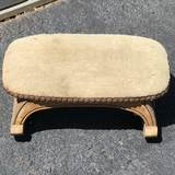 Vintage Wooden Rocking Foot Stool
