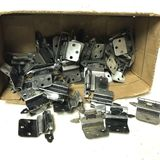 Lot of Silver Tone Cabinet Hinges