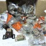 Large Lot of Amerock Cabinet Magnetic Hardware - Most New & Sealed