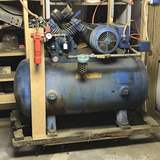 American Way Single Phase Air Compressor - Works!