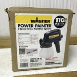 Wagner Power Painter 2-Speed Airless Paint/Stain Sprayer in Box