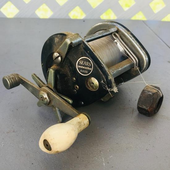 Vintage Sears Fishing Reel