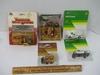 4 ERTL 1/64 Scale Farm Toys & Friction Wheel Motor Bike - Die Cast Metal
