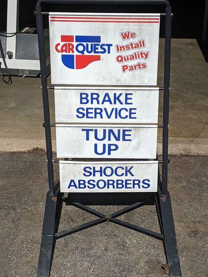 Car Quest Service Sign