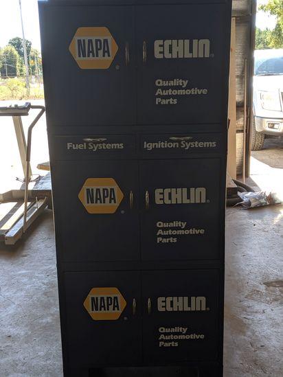 Large Napa Parts Cabinet