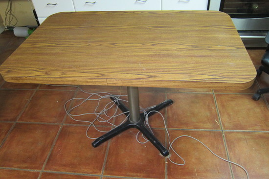 Nice Kitchen Table with Laminate Top