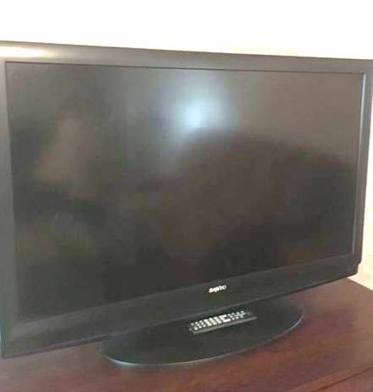 "Sanyo 50"" Flat Screen TV with Remote."