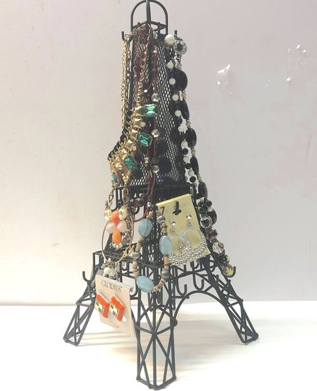 Eiffel Tower Jewelry Display Stand For Business/Dresser with Jewelry
