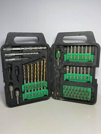 Hitachi Drill Bit Set - Comes With Everything Shown