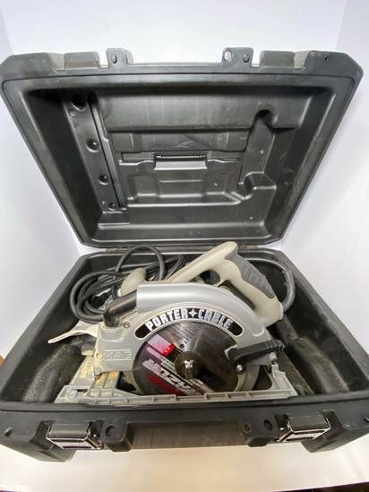 Porter Cable Double Insulated Circular Saw in Hard Case - Works