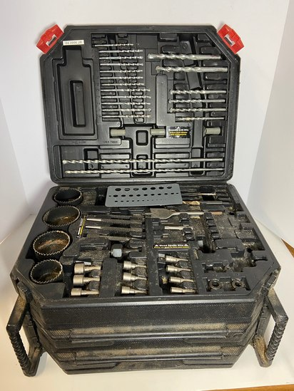 Task Force 3-Tier Drill Bit Case