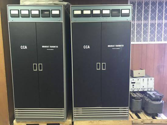 CCA Broadcast Transmitter Type FM 30000D/E & Type FM 25,000D/E